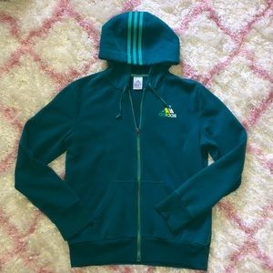 Women's Adidas Zip-up Sweatshirt | Slightly worn